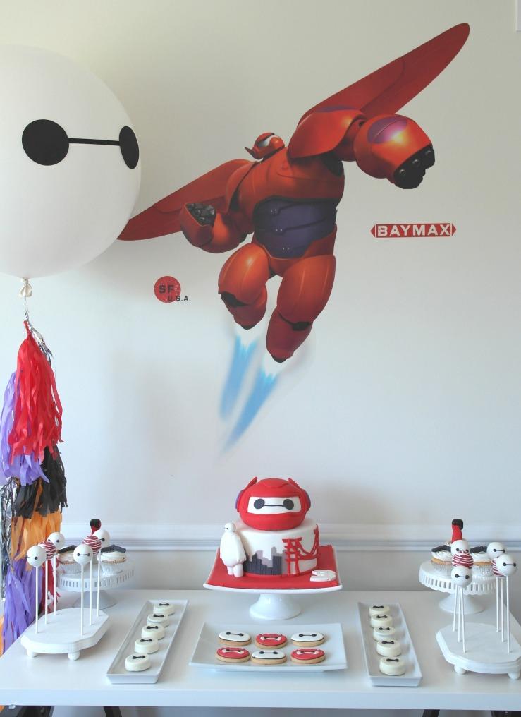 Baymax / Big Hero 6 Dessert Table Birthday Party