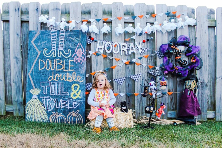 Glam Fete hooray glitter word banner\ Fall decor and Halloween Party